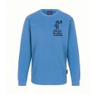 Langarm-Shirt KINDER - unisex (Gr. 116 - 164) - 100%BW in malibu